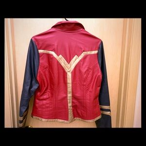 "Her Universe"" Wonder Woman Moto jacket - like new"